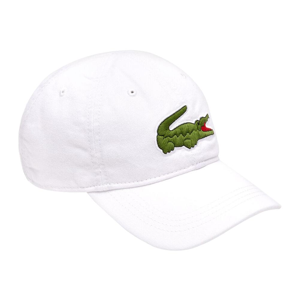 Lacoste-Homme-en-coton-brode-Big-Croc-Logo-Reglable-Chapeau-Bonnet miniature 12