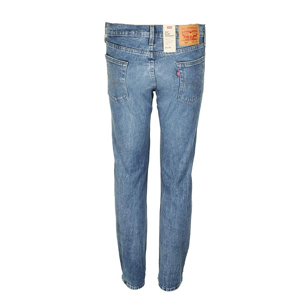Levis-Men-039-s-513-Slim-Fit-Straight-Jeans thumbnail 3