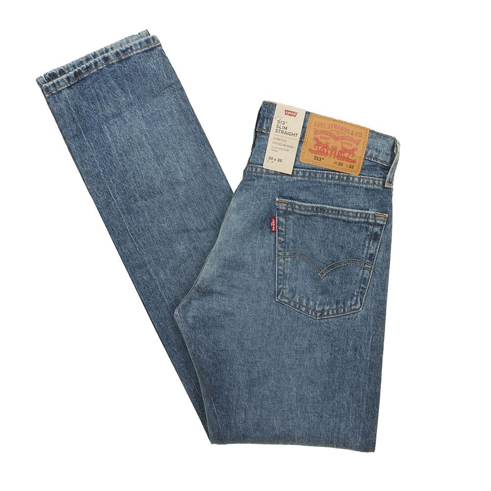 Levis-Men-039-s-513-Slim-Fit-Straight-Jeans thumbnail 4