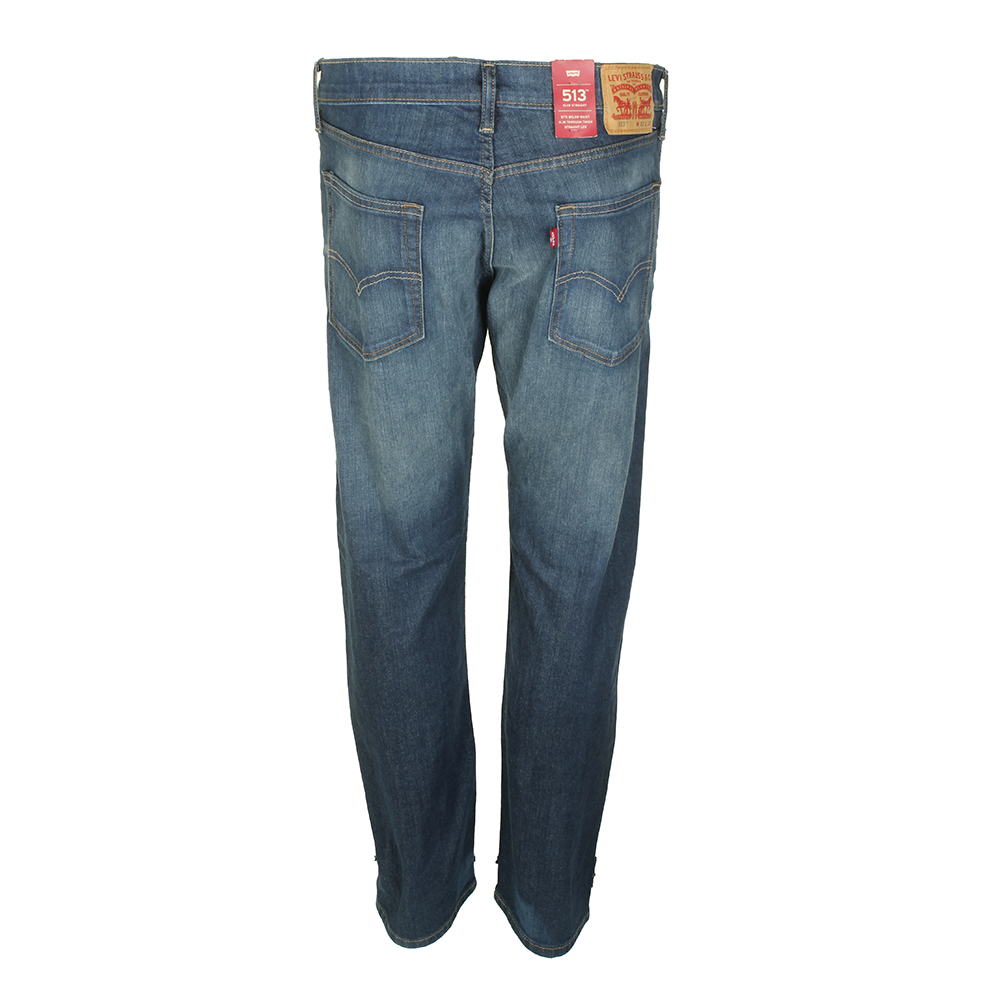 Levis-Men-039-s-513-Slim-Fit-Straight-Jeans thumbnail 6