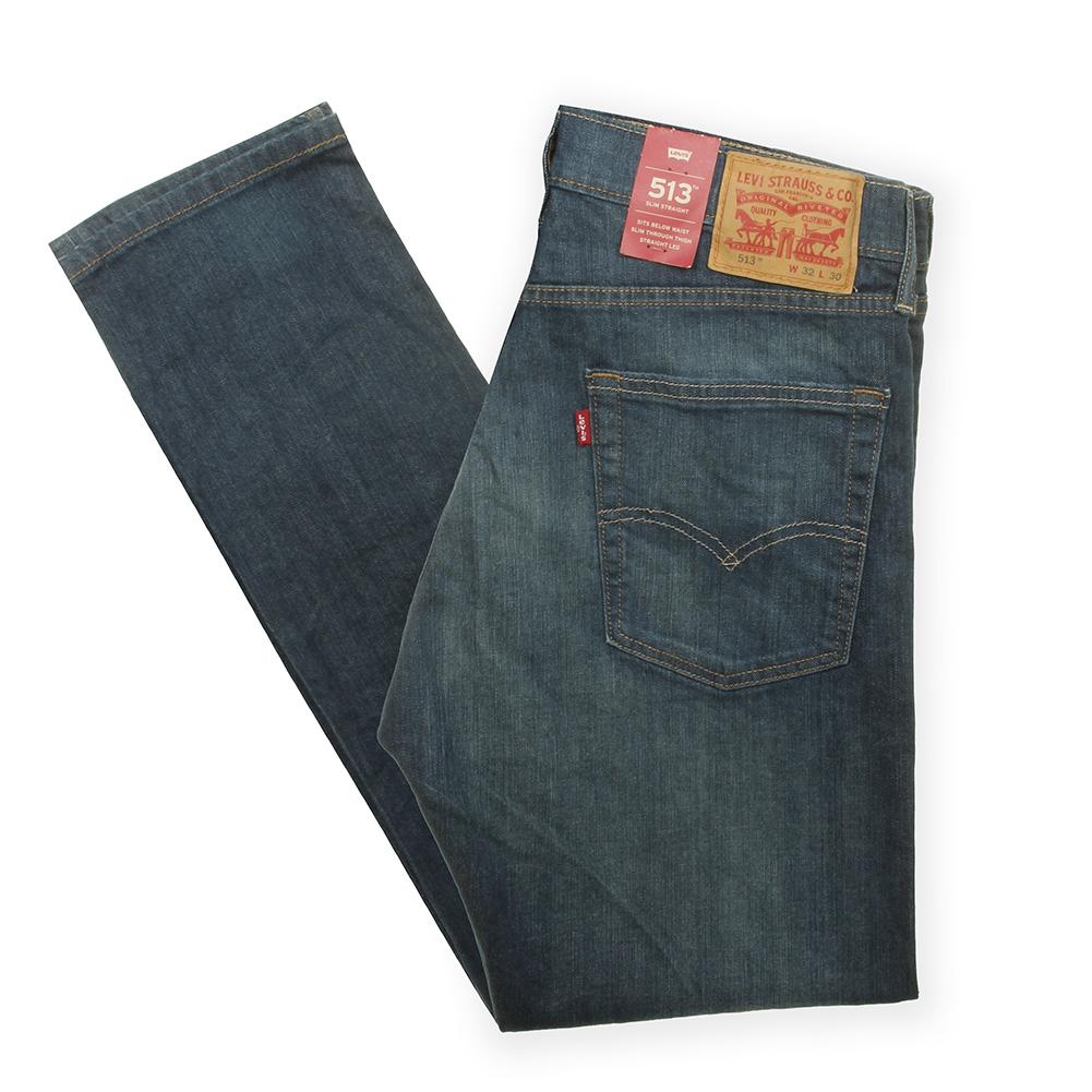 Levis-Men-039-s-513-Slim-Fit-Straight-Jeans thumbnail 7