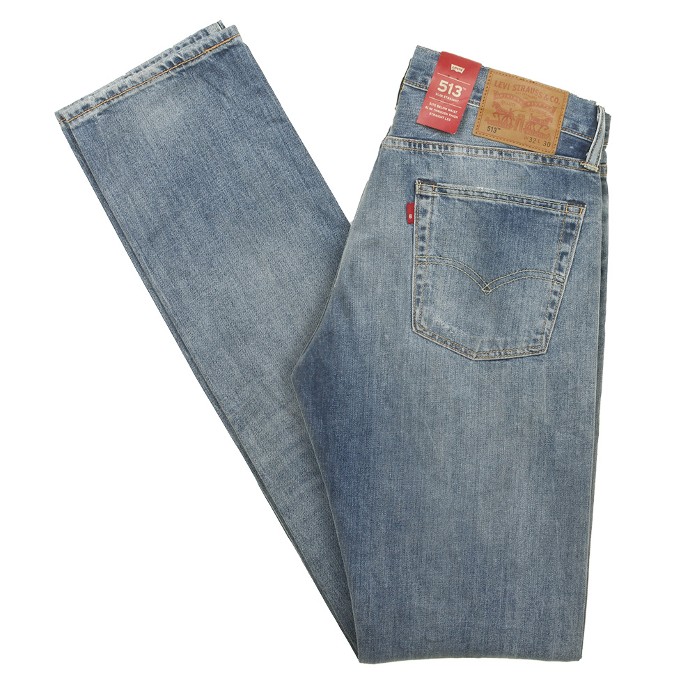 Levis-Men-039-s-513-Slim-Fit-Straight-Jeans thumbnail 19