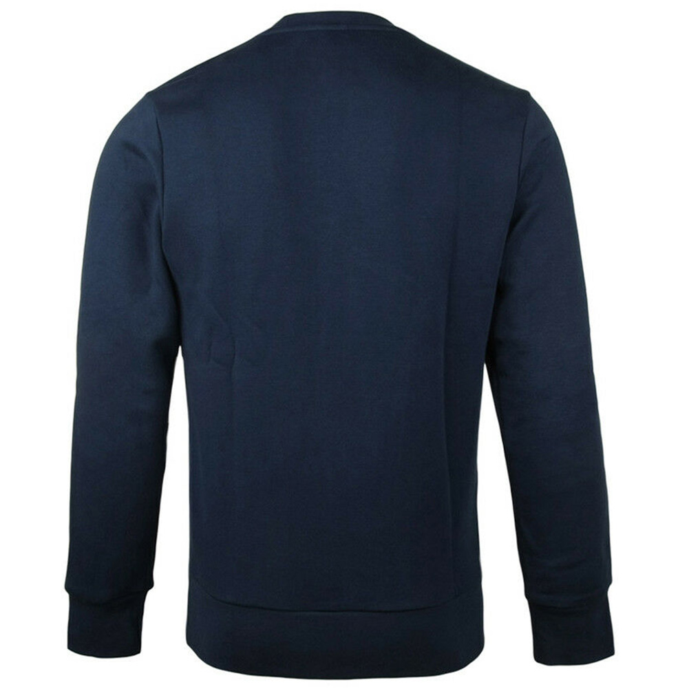 Adidas-Men-039-s-Crew-Neck-Essential-3-Stripe-Active-Pullover-Sweatshirt thumbnail 6