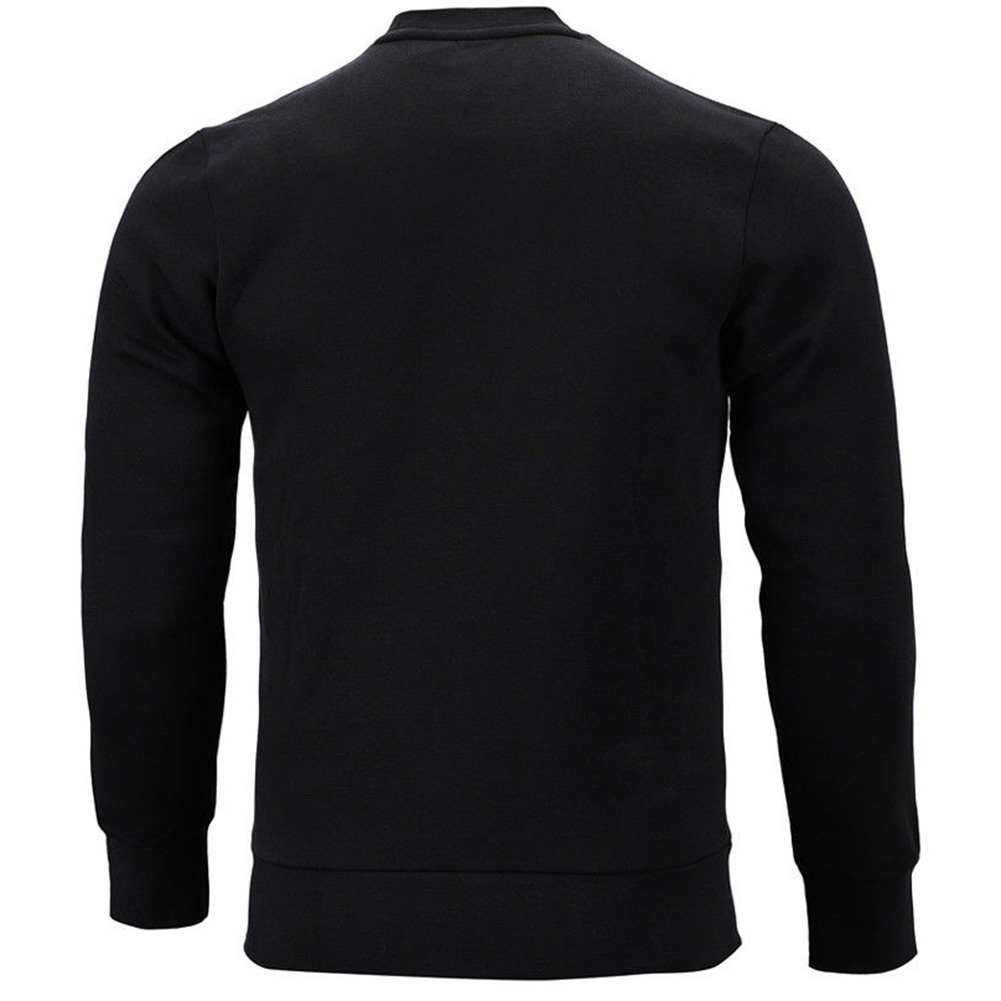 Adidas-Men-039-s-Crew-Neck-Essential-3-Stripe-Active-Pullover-Sweatshirt thumbnail 3