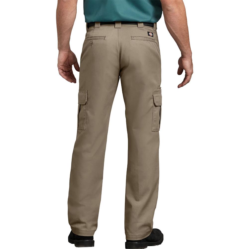 Dickies-Men-039-s-WP595-Flex-Regular-Fit-Straight-Leg-Work-Cargo-Pants thumbnail 7