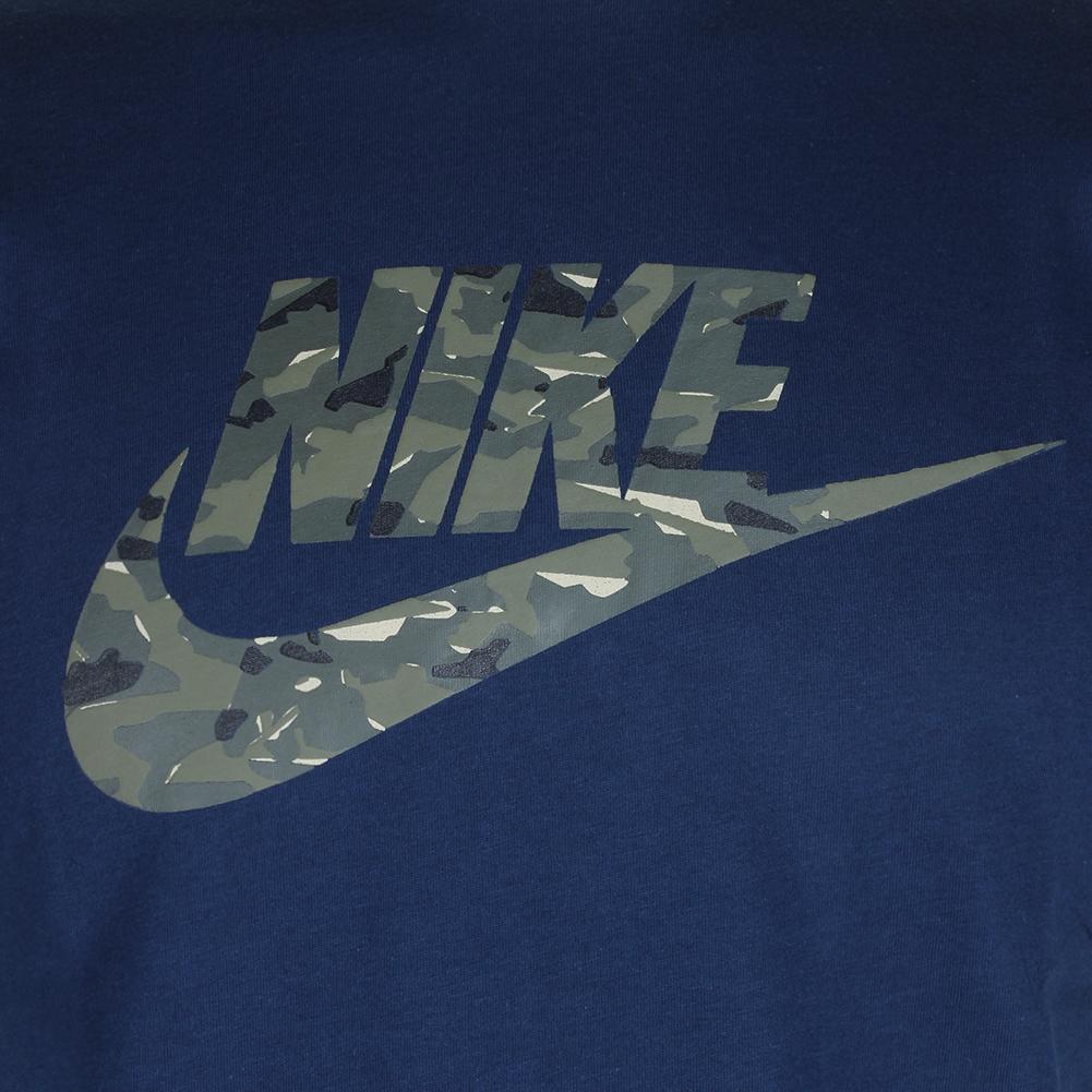 Nike-Men-039-s-Short-Sleeve-Camouflage-Logo-Graphic-Athletic-Cut-T-Shirt thumbnail 7