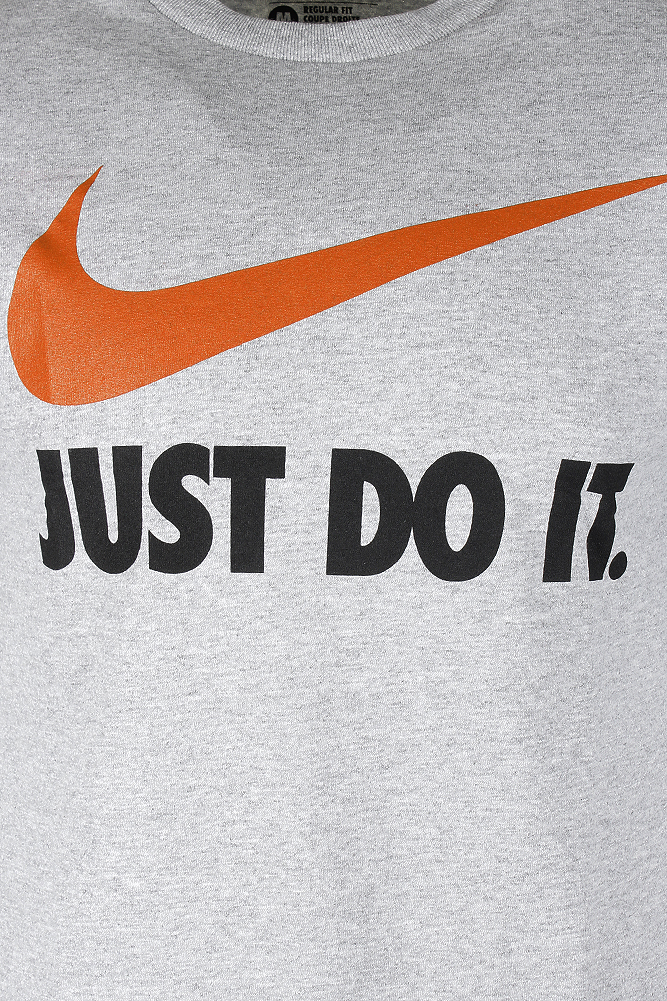 Nike-Men-039-s-Short-Sleeve-Just-Do-It-Swoosh-Graphic-Active-T-Shirt thumbnail 10