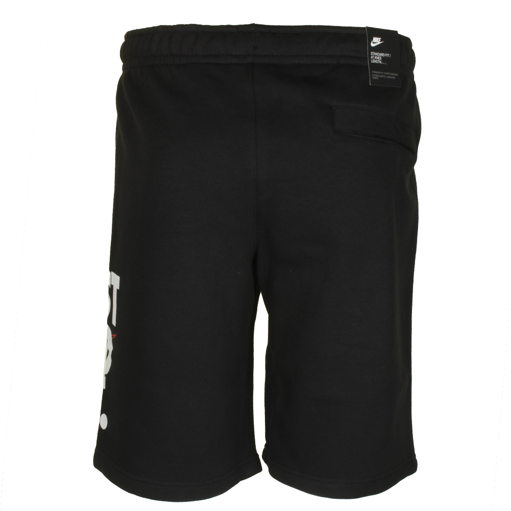 Nike-Men-039-s-Just-Do-It-Graphic-Logo-Fleece-Active-Knee-Length-Shorts thumbnail 4
