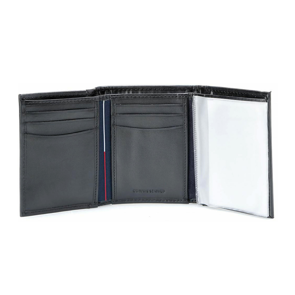Tommy-Hilfiger-Men-039-s-31TL11X033-Leather-Credit-Card-ID-Trifold-Wallet thumbnail 4