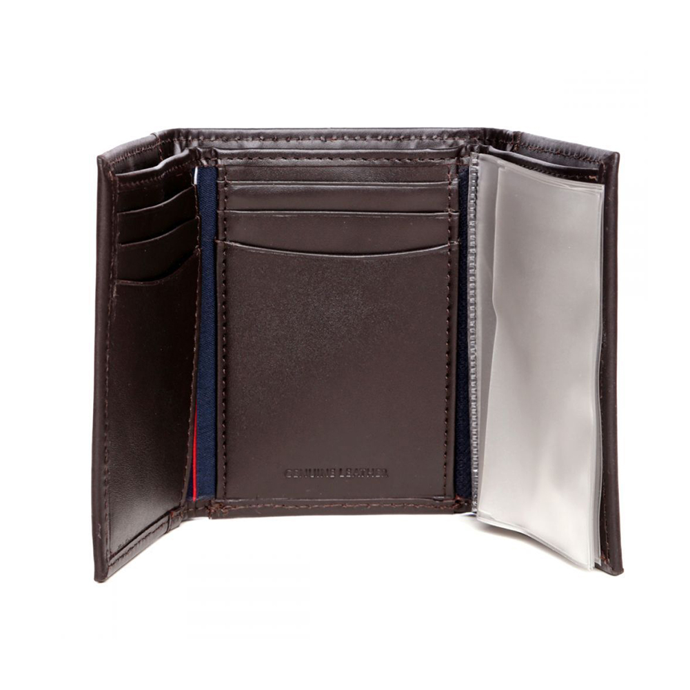 Tommy-Hilfiger-Men-039-s-31TL11X033-Leather-Credit-Card-ID-Trifold-Wallet thumbnail 7