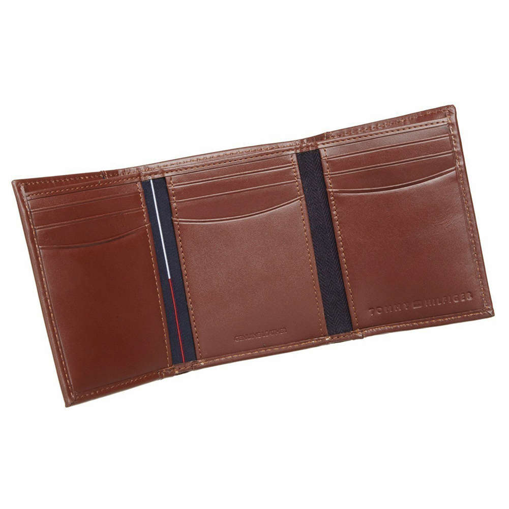 Tommy-Hilfiger-Men-039-s-31TL11X033-Leather-Credit-Card-ID-Trifold-Wallet thumbnail 10