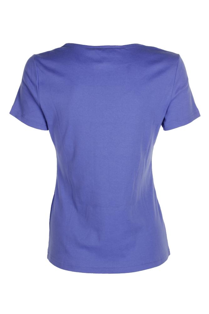 a4064b67357b3 Karen Scott Regatta Blue Short-Sleeve Scoop-Neck T-Shirt S ...