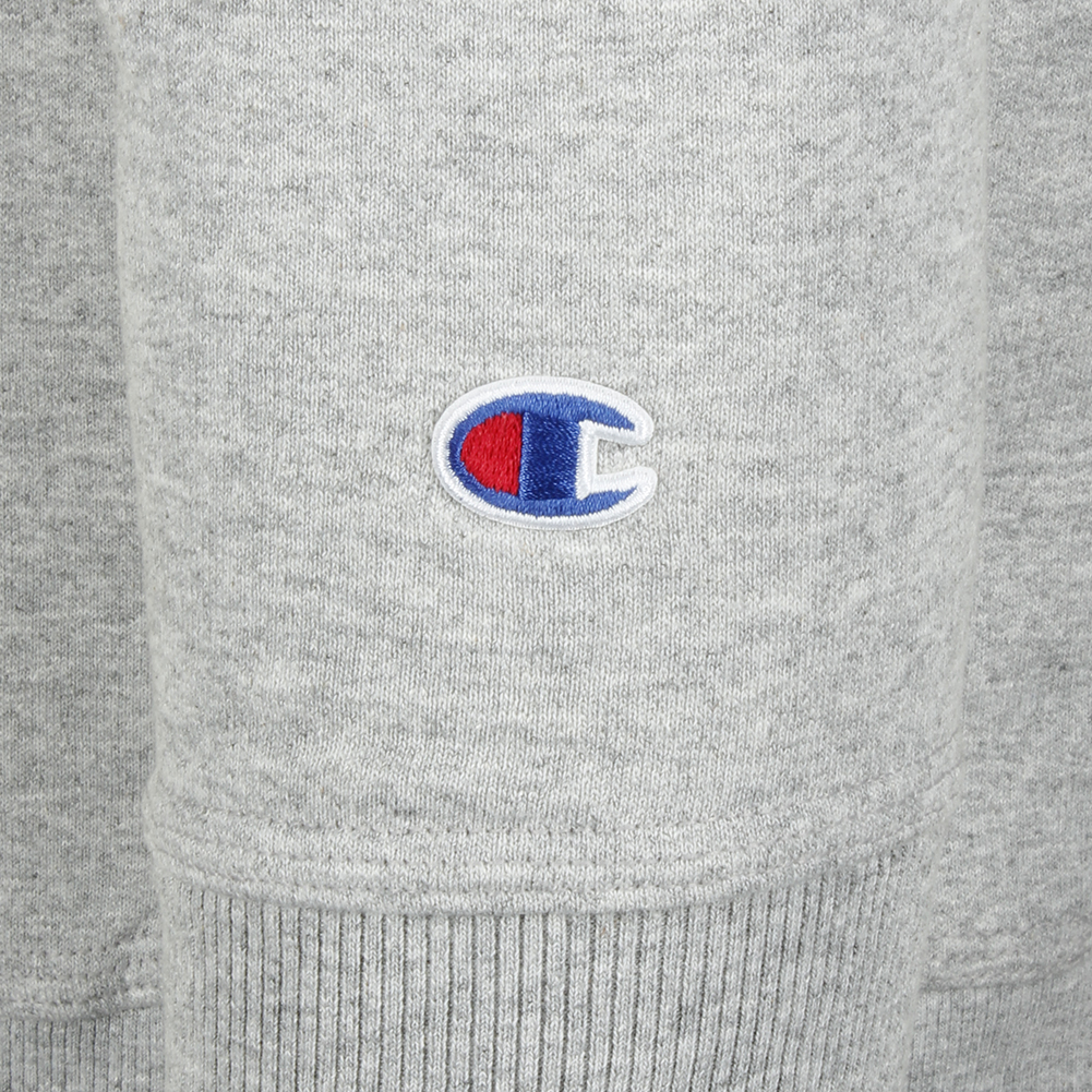 Champion-Men-039-s-Powerblend-Fleece-Crew-Neck-Script-Logo-Sweatshirt thumbnail 13