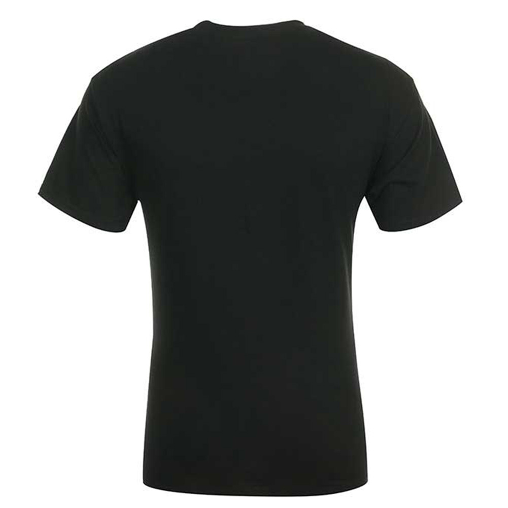 Converse-Men-039-Short-Sleeve-All-Star-printed-Cotton-T-Shirt thumbnail 3