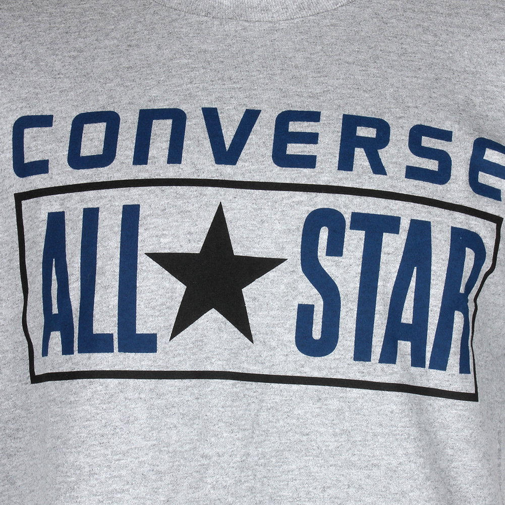 Converse-Men-039-Short-Sleeve-All-Star-printed-Cotton-T-Shirt thumbnail 7