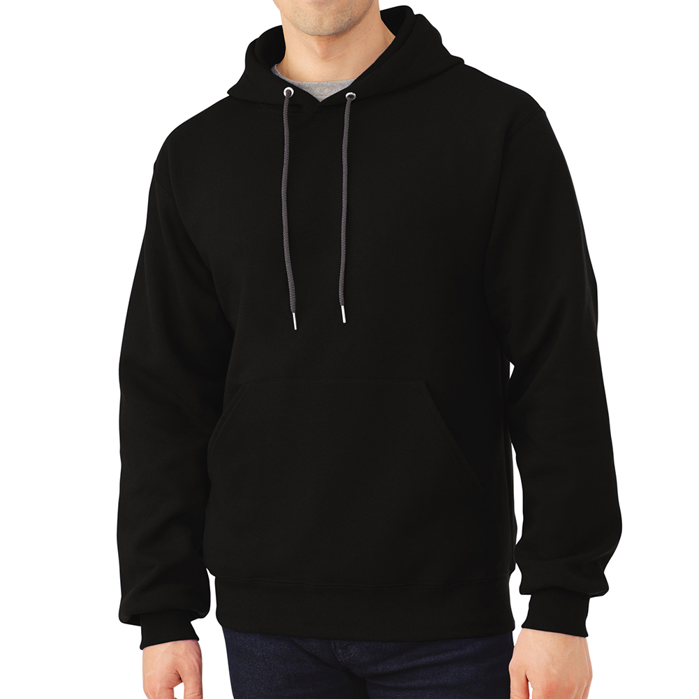 Fruit-of-the-Loom-Men-039-s-Long-Sleeve-Pullover-Hoodie thumbnail 3