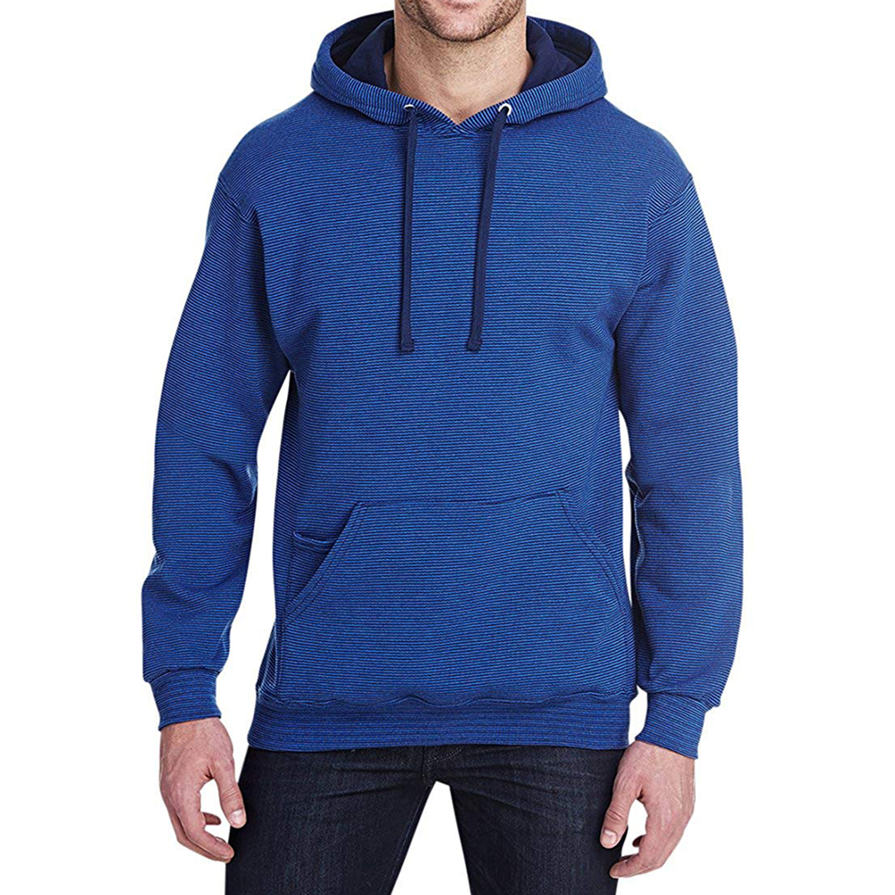 Fruit-of-the-Loom-Men-039-s-Long-Sleeve-Pullover-Hoodie thumbnail 5