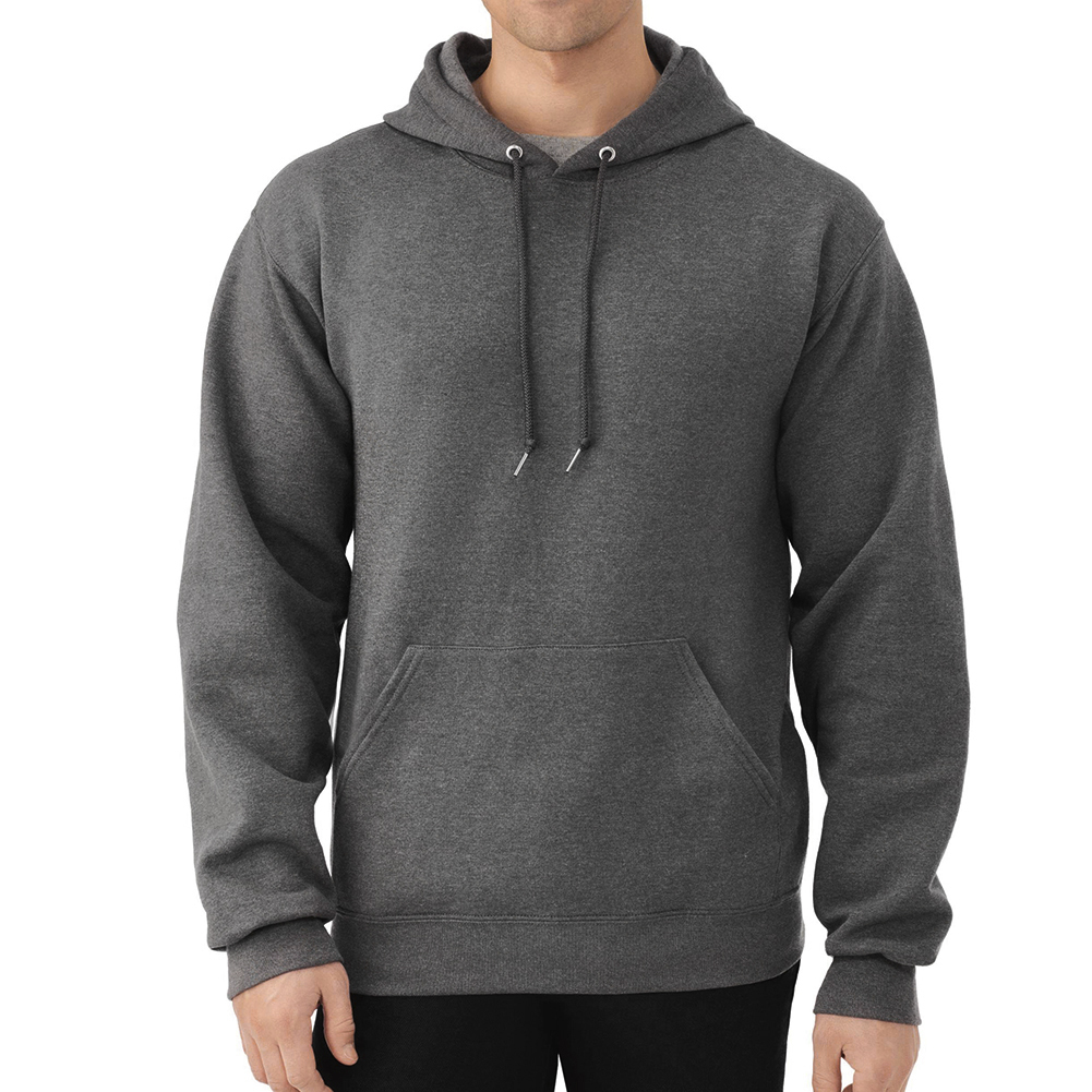 Fruit-of-the-Loom-Men-039-s-Long-Sleeve-Pullover-Hoodie thumbnail 7