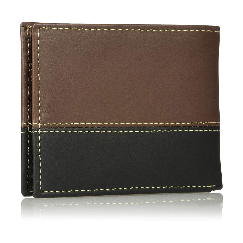 Timberland-Men-039-s-D67001-Leather-Two-Tone-Billfold-Commuter-Wallet thumbnail 3