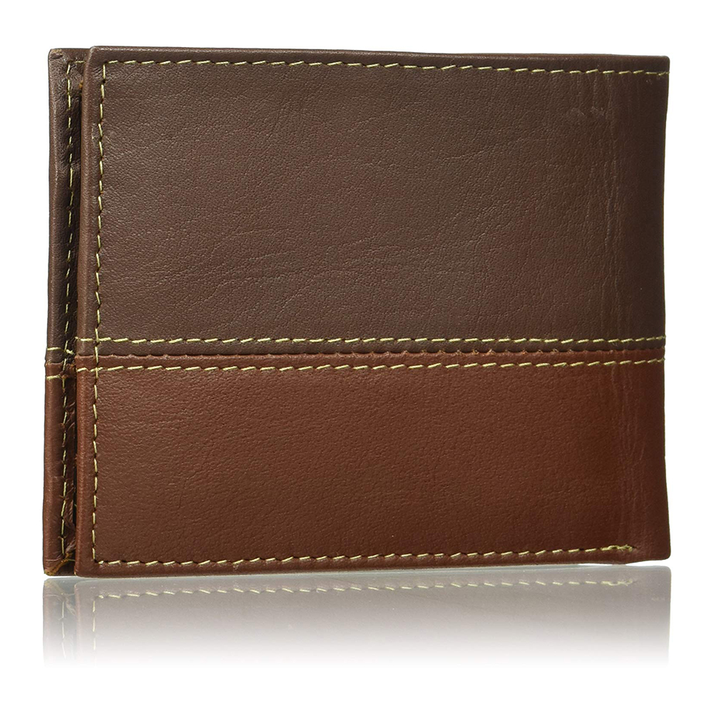Timberland-Men-039-s-D67001-Leather-Two-Tone-Billfold-Commuter-Wallet thumbnail 9
