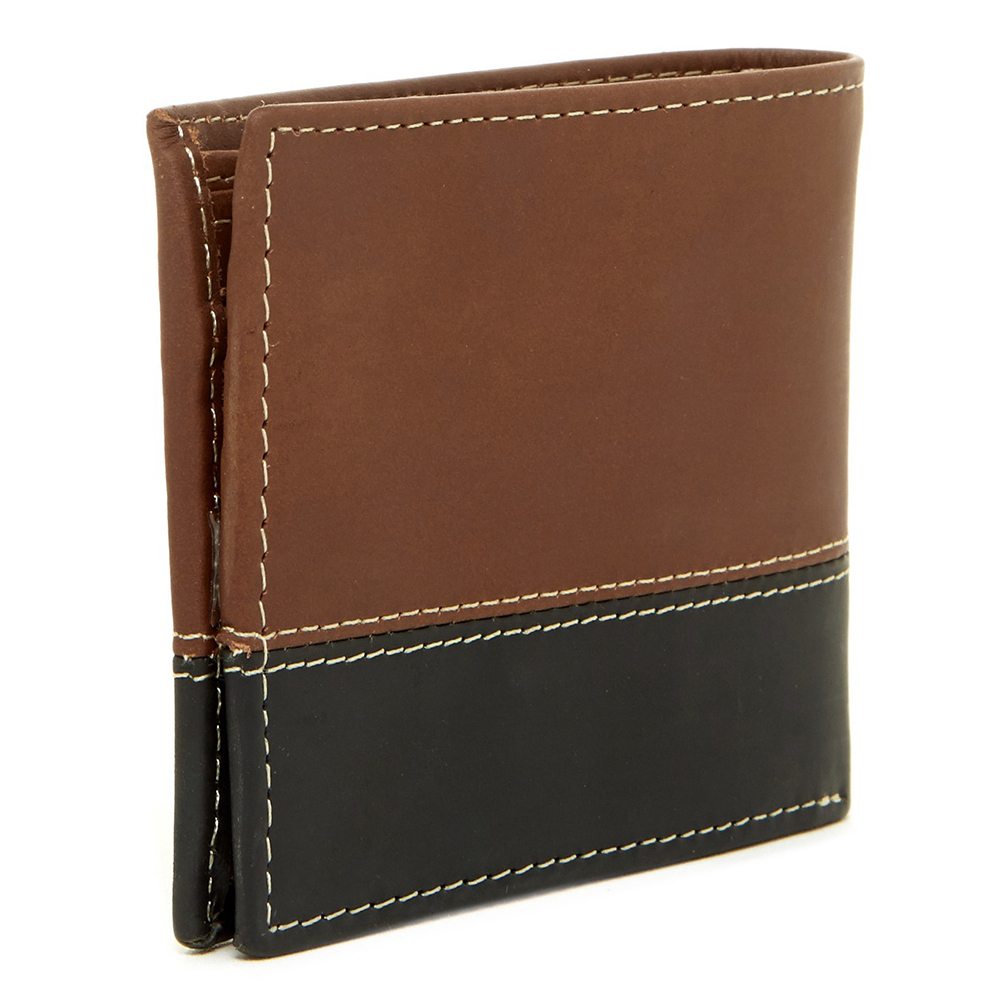 Timberland-Men-039-s-D67001-Leather-Two-Tone-Billfold-Commuter-Wallet thumbnail 6