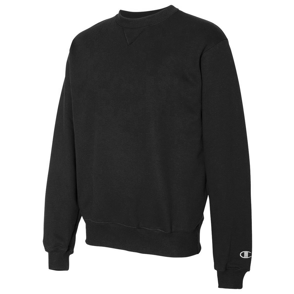 Champion-Men-039-s-S178-Heavyweight-French-Terry-Crew-Neck-Sweatshirt thumbnail 3