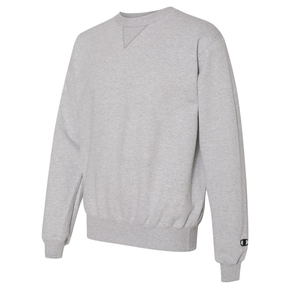 Champion-Men-039-s-S178-Heavyweight-French-Terry-Crew-Neck-Sweatshirt thumbnail 5