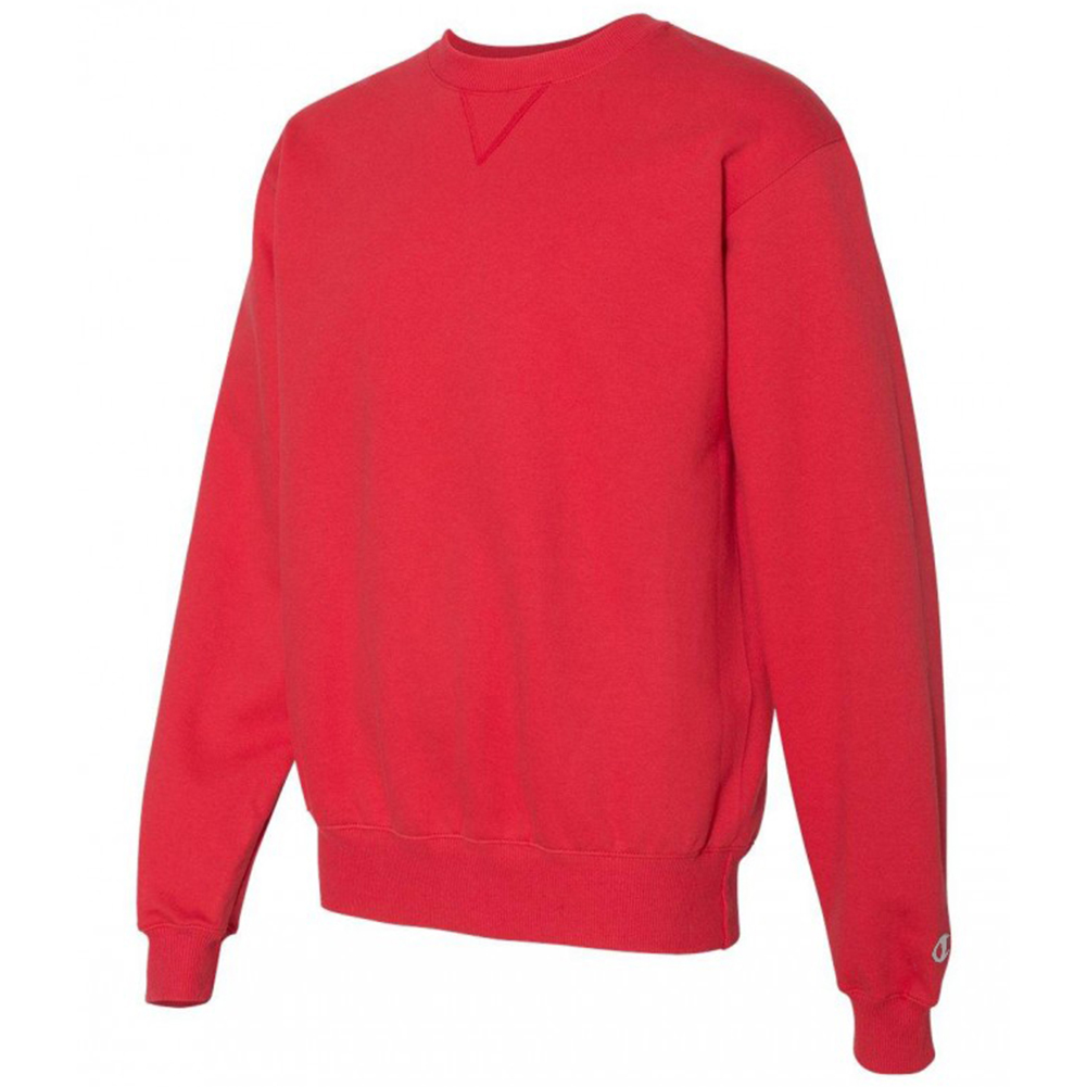 Champion-Men-039-s-S178-Heavyweight-French-Terry-Crew-Neck-Sweatshirt thumbnail 9