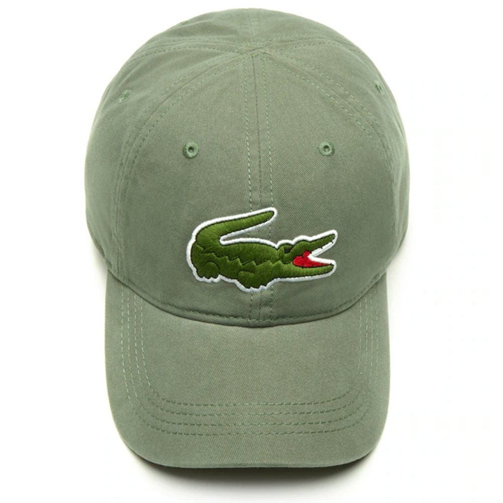 Lacoste-Men-039-s-Cotton-Embroidered-Big-Croc-Logo-Adjustable-Hat-Cap thumbnail 17