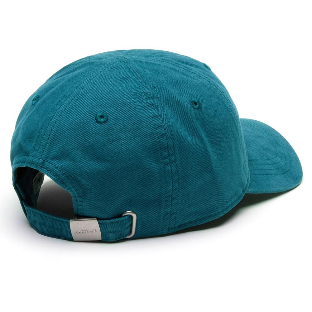 Lacoste-Men-039-s-Cotton-Embroidered-Big-Croc-Logo-Adjustable-Hat-Cap thumbnail 4