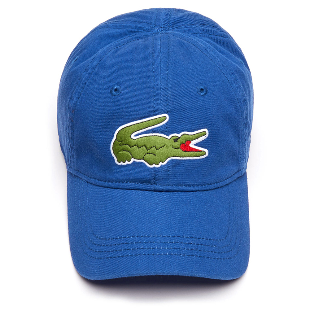 Lacoste-Men-039-s-Cotton-Embroidered-Big-Croc-Logo-Adjustable-Hat-Cap thumbnail 6