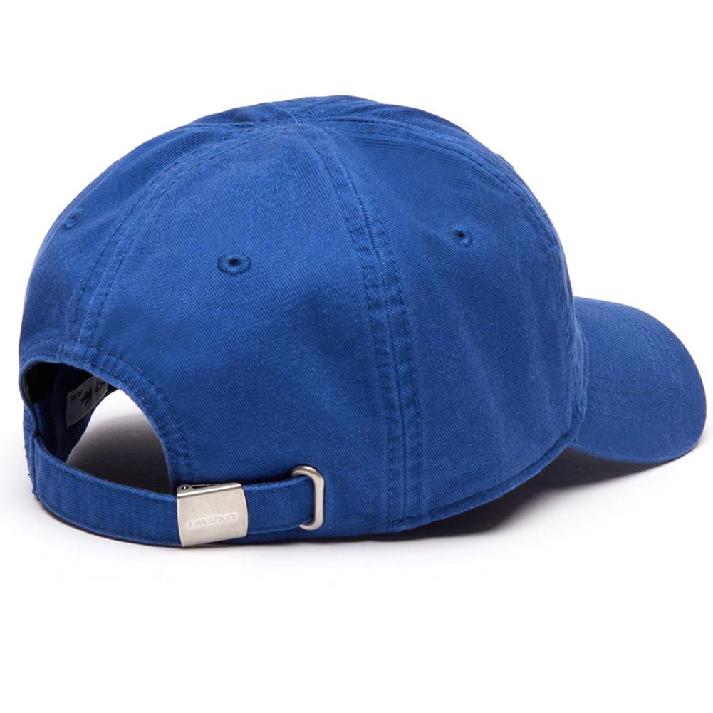 Lacoste-Men-039-s-Cotton-Embroidered-Big-Croc-Logo-Adjustable-Hat-Cap thumbnail 7