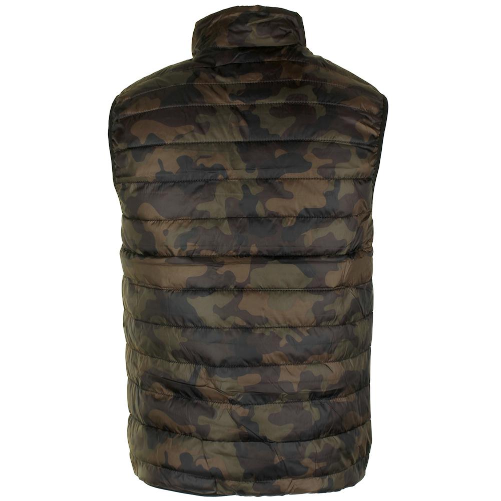 Maximos-Men-039-s-Sleeveless-Zip-Up-Front-Pocket-Mock-Neck-Puffy-Vest thumbnail 9