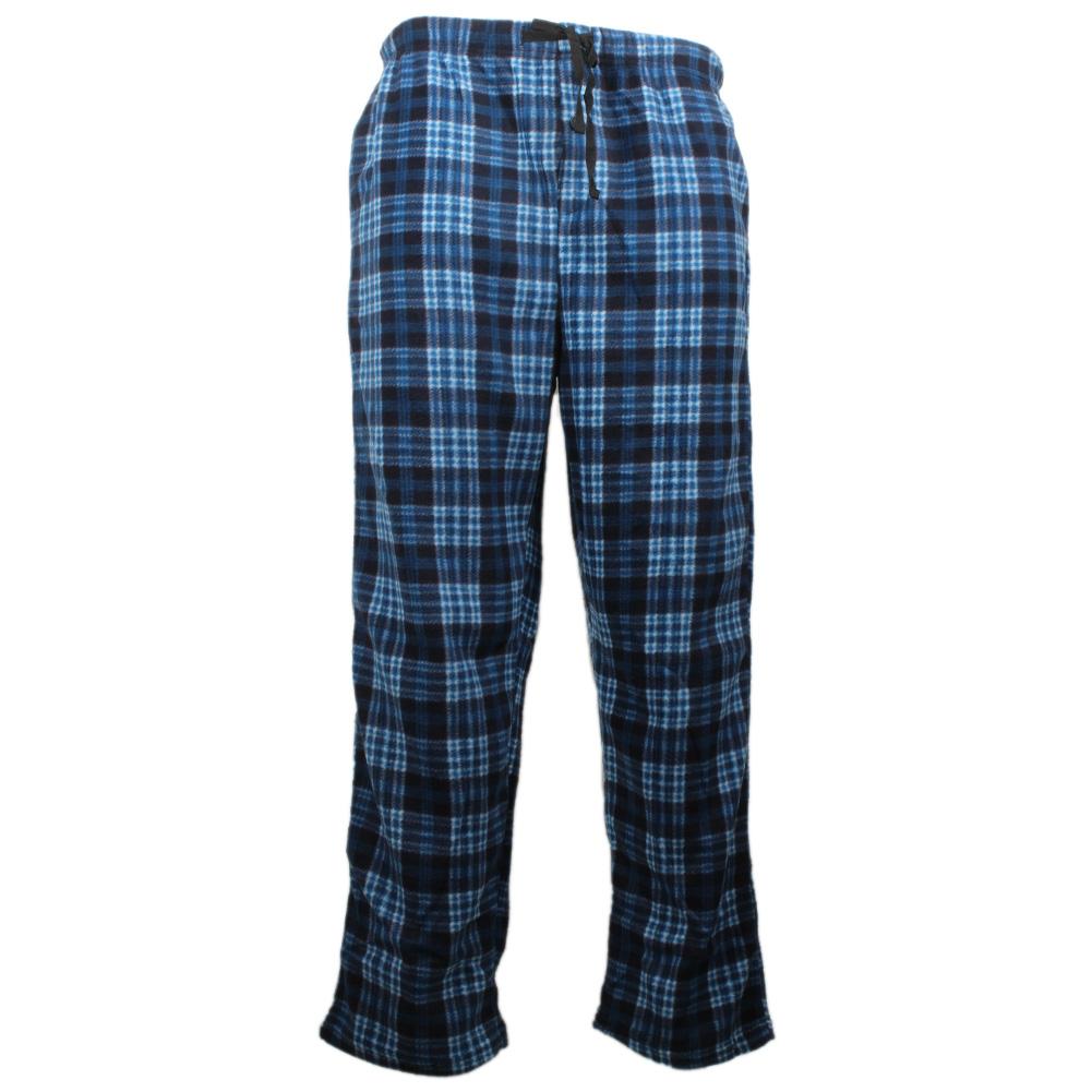 Rugged-Frontier-Men-039-s-Plaid-Fleece-2-Piece-Lounge-Pajama-Set thumbnail 3