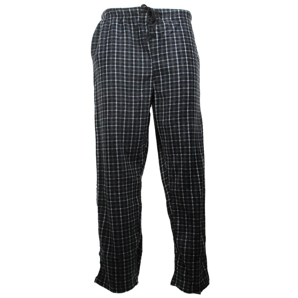 Rugged-Frontier-Men-039-s-Plaid-Fleece-2-Piece-Lounge-Pajama-Set thumbnail 6