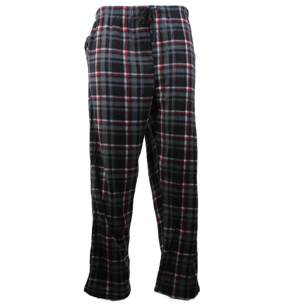 Rugged-Frontier-Men-039-s-Plaid-Fleece-2-Piece-Lounge-Pajama-Set thumbnail 9