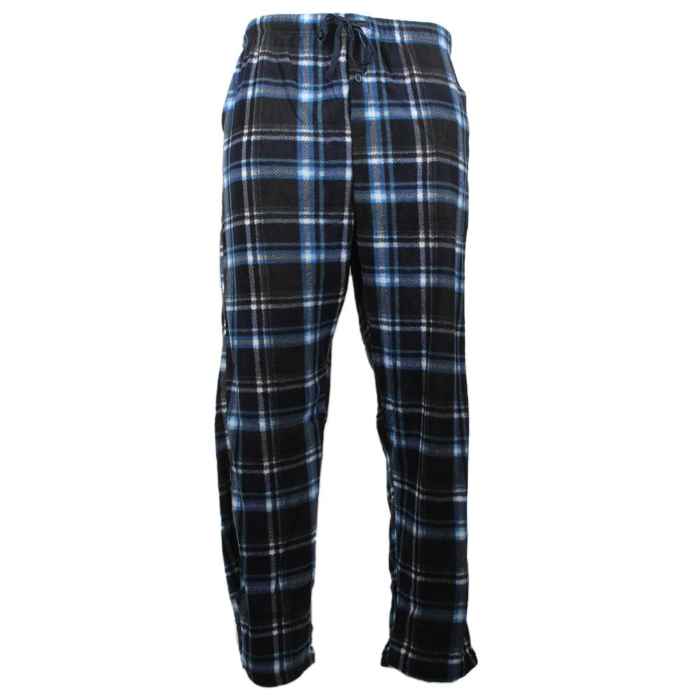Rugged-Frontier-Men-039-s-Plaid-Fleece-2-Piece-Lounge-Pajama-Set thumbnail 12