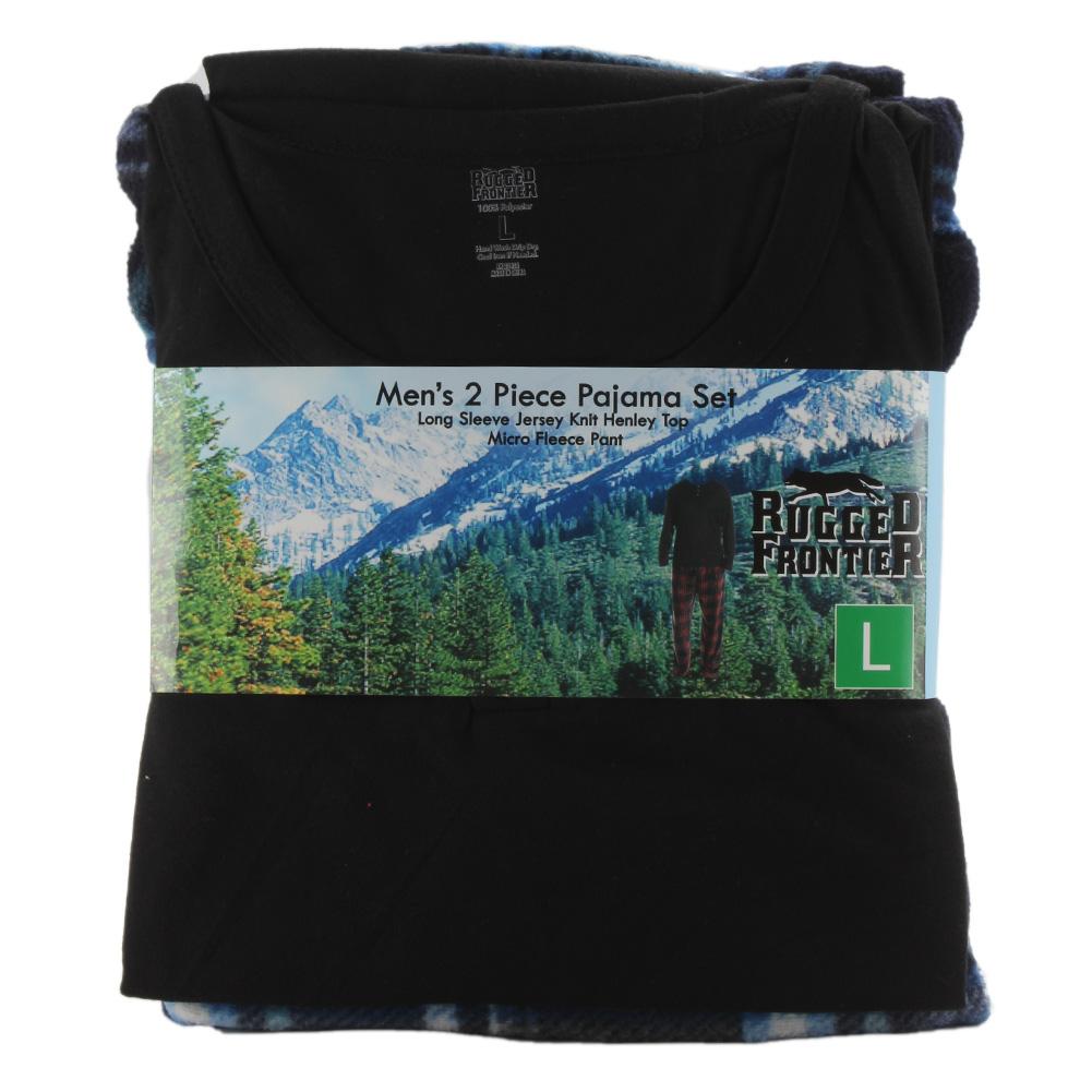 Rugged-Frontier-Men-039-s-Plaid-Fleece-2-Piece-Lounge-Pajama-Set thumbnail 13