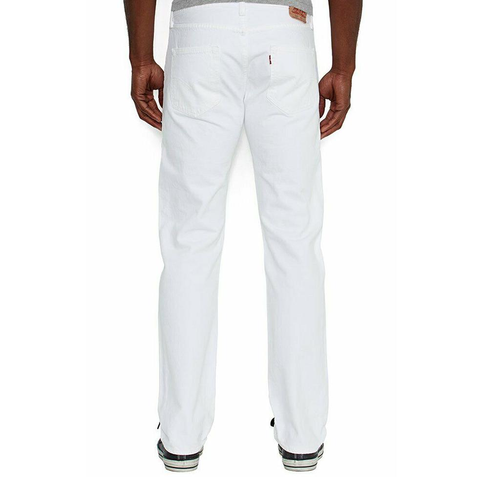 miniature 14 - LEVIS Mens 501 Original Fit Denim Jeans coupe droite braguette à bouton 100% coton